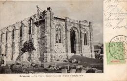 REUNION --Le Port , Construction D'une Cathedrale - La Réunion