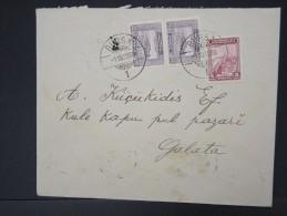 TURQUIE - Lettre Période 1930 / 1937 - Détaillons Collection - A étudier- Lot N° 6383 - 1921-... Republic
