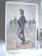 België Belgique Armée Lancier - Belgique