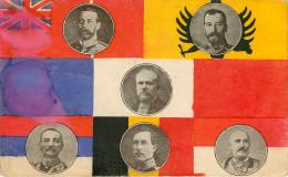 Familles Royales - Portrait - Personnages - Russie - Tsar Nicolas II - Albert I - Président Raymond Poincaré - état - Royal Families