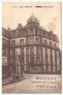 63 - ROYAT - L'Hôtel Continental - G. D'O. 1163 - Surchargé Ancien Continental - BORROT - Royat