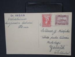 TURQUIE - Lettre Période 1930 / 1937 - Détaillons Collection - A étudier- Lot N° 6392 - 1921-... Republiek