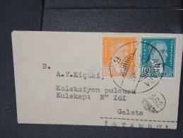 TURQUIE - Lettre Période 1930 / 1937 - Détaillons Collection - A étudier- Lot N° 6396 - 1921-... Republiek
