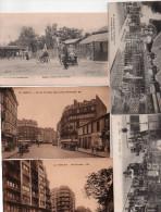 Tres Bon Lot De 32 Cpa Des Quartiers Et Rues De Paris 75 Avec Animations , Voir Toutes Scannees - France