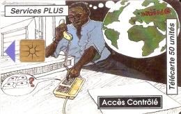 TARJETA DE BENIN DE ACCES CONTROLE  50 UNITES - Benin
