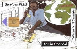 TARJETA DE BENIN DE ACCES CONTROLE  120 UNITES - Benin