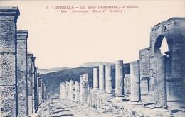 Algeria Djemila La Voie Decumane