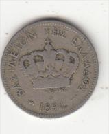 GREECE - Crown, Coin 20 Lepta, Edition 1894 A - Grecia