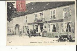Chamblay  39    Hotel Du Balcon (Meraud) Tres Animé - France
