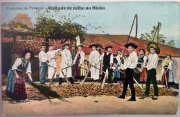 """Publicidade Publicitaire Publicity TONICINA SANITAS - """"Costume De Portugal - MALHADA DE MILHO NO MINHO"""" - Customs"""