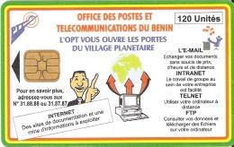 TARJETA DE BENIN DE INTERNET 120 UNITES - Benin