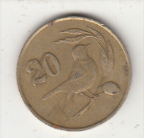 CYPRUS - Bird, Coin 20 Cents, Edition 1983 - Chypre
