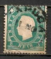 Timbres - Portugal - Inde Portugaise - 1886 - 6 Reis - - Inde Portugaise