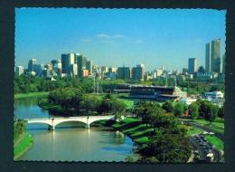 AUSTRALIA  -  Melbourne  Yarra River  Unused Postcard As Scan - Melbourne