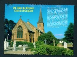 AUSTRALIA  -  Canberra  St John The Baptist Church  Unused Postcard As Scan - Canberra (ACT)