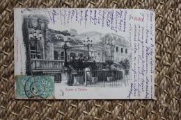 Carte Postale Ancienne Vichy Casino Et Théatre - Vichy