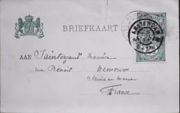 PAYS-BAS - Carte Postale - Briefkaart - Entier Postal  - Amsterdam Le 29.07.1903 - Postal Stationery