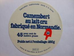 A-61468 - Etiquette De Fromage Camembert ED BONNET FRIGIEN REPUBLICAIN - ST-HILAIRE DE BRIOUZE Orne 61C - Fromage