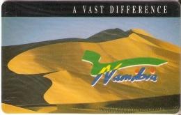TARJETA DE NAMIBIA DE A VAST DIFFERENCE DE R10 (DESIERTO-DUNAS) NUEVA-MINT
