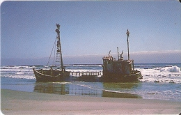 TARJETA DE NAMIBIA DE UN BARCO-SHIP DE N$20