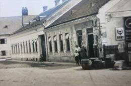 Sattersdorf Bei St.Pölten. Fässer Vor Samuel Hackers Laden, Pferdefuhrwerk, 1934 - St. Pölten