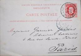 BELGIQUE - Carte Postale - Entier Postal  - Gand Le 07.07.1880 - Entiers Postaux