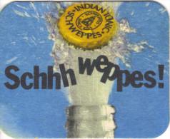 SOUS BOCK / 128 - SCHWEPPES - Bierdeckel