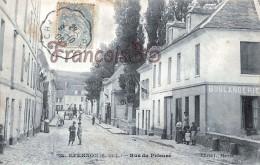 (28) Epernon - Rue Du Prieuré - Boulangerie - 2 SCANS - Epernon