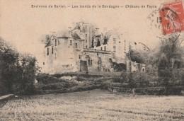 Cpa Environs De SARLAT Les Bords De La Dordogne Château De Fayra - Sarlat La Caneda