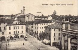 Veneto-vicenza-bassano Veduta Piazza Vittorio Emanuele Primi 900 - Italia