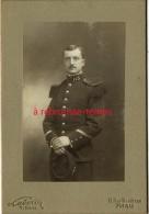 Photo Cartonnée-officier Du 113e Régiment Photo Laborie 11 Rue Boudreau à Paris-bel état - Guerre, Militaire
