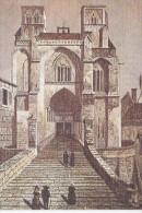 LA CHAISE DIEU (43-Haute-Loire), L'Abbaye, Lithographie Ancienne, Ed. Du Lys - Peintures & Tableaux
