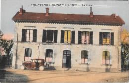 FRONTENAY ROHAN ROHAN (79) Vue De La Gare - Frontenay-Rohan-Rohan