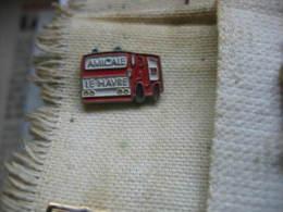 Pin's De L'Amicale Des Sapeurs Pompiers Du HAVRE - Bomberos