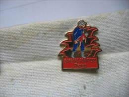 Pin´s Des Sapeurs Pompiers De PFASTATT (Dept 68) - Bomberos