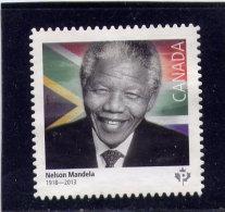 CANADA 2015, USED  #2806,  NELSON MANDELA, USED Stamp - Carnets