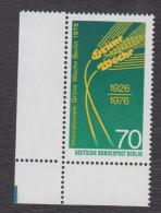 Berlin Michel Nr. 516 Mit Plattenfehler Philorax BF 41  - Postfrischer Eckrand - Berlin (West)