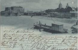 AK Gruss Aus Hameln S/w Gelaufen 3.11.1897 - Hameln (Pyrmont)