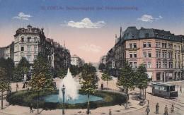 AK Köln Barbarrossaplatz Und Hohenstaufenring Color Gelaufen 8.1.16 Strassenbahn - Köln