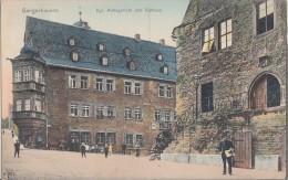 AK Sangerhausen Kgl. Amtsgericht Und Rathaus Color Gelaufen 1.7.12 - Sangerhausen