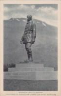 Statue Of John F Stevens Discoverer Of Marias Pass Across The Rocky Mountains Colorado Albertype