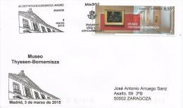 SPAIN. FDC LAZARO THYSSEN-BORNEMISZA MUSEUM. MADRID 2015 - FDC