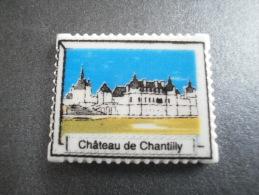 BOULANGERIE DEVISSCHER RIBECOURT 60 - CHATEAU DE CHANTILLY - CHATEAUX DE L'OISE - FEVE BRILLANTE - Région