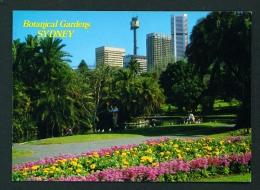 AUSTRALIA  -  Sydney  Botanical Gardens  Unused Postcard As Scan - Sydney