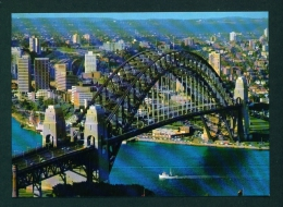 AUSTRALIA  -  Sydney  Harbour Bridge  Unused Postcard As Scan - Sydney