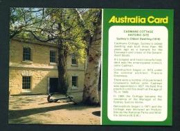 AUSTRALIA  -  Sydney  Cadmans Cottage  Unused Postcard As Scan - Sydney