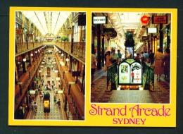 AUSTRALIA  -  Sydney  Strand Arcade  Unused Postcard As Scan - Sydney