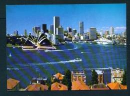 AUSTRALIA  -  Sydney  The Harbour  Unused Postcard As Scan - Sydney