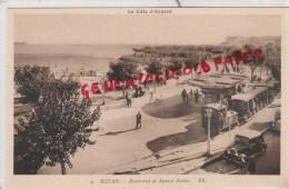 17 - ROYAN -BOULEVARD ET SQUARE BOTTON- TRAIN - EDITEUR BLOC N° 9 - Royan