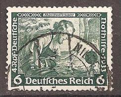DR 1933 // Mi. 502 O - Gebraucht